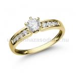 E17SB Gyémánt gyűrű