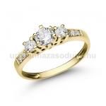E18SB Gyémánt gyűrű