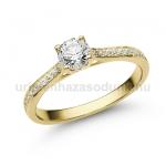 E28SB Gyémánt gyűrű