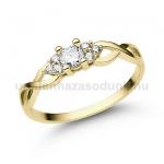 E301SB Gyémánt gyűrű