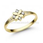E308SB Gyémánt gyűrű
