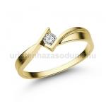 E334SB Gyémánt gyűrű