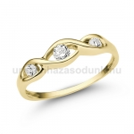 E336SB Gyémánt gyűrű