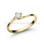 E34SB Gyémánt gyűrű