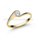 E4SB Gyémánt gyűrű