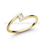 E7SB Gyémánt gyűrű