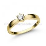 E9SB Gyémánt gyűrű