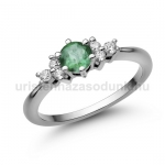 E101FS Smaragd gyűrű