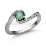 E103FS Smaragd gyűrű