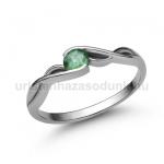 E104FS Smaragd gyűrű