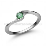 E106FS Smaragd gyűrű