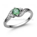 E107FS Smaragd gyűrű