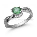 E108FS Smaragd gyűrű