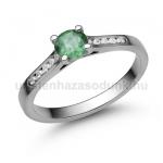 E109FS Smaragd gyűrű