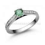 E111FS Smaragd gyűrű