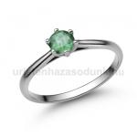 E114FS Smaragd gyűrű