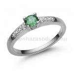 E115FS Smaragd gyűrű