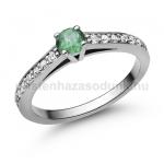 E118FS Smaragd gyűrű