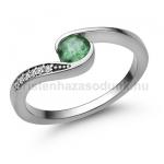 E119FS Smaragd gyűrű