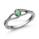 E120FS Smaragd gyűrű