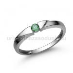 E12FS Smaragd gyűrű