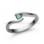 E14FS Smaragd gyűrű