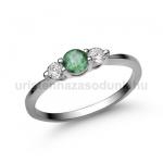 E16FS Smaragd gyűrű