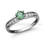 E17FS Smaragd gyűrű