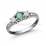 E18FS Smaragd gyűrű