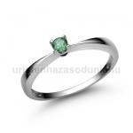 E1FS Smaragd gyűrű