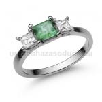 E201FS Smaragd gyűrű