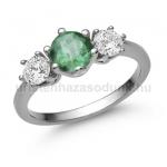 E205FS Smaragd gyűrű