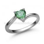 E207FS Smaragd gyűrű