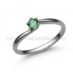 E209FS Smaragd gyűrű
