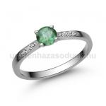 E210FS Smaragd gyűrű