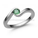 E212FS Smaragd gyűrű