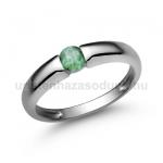E22FS Smaragd gyűrű