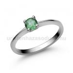 E25FS Smaragd gyűrű