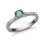 E28FS Smaragd gyűrű
