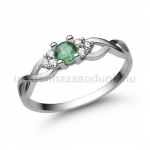 E301FS Smaragd gyűrű