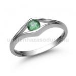 E302FS Smaragd gyűrű