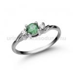 E304FS Smaragd gyűrű