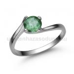 E307FS Smaragd gyűrű