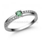 E311FS Smaragd gyűrű