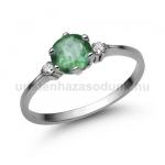 E312FS Smaragd gyűrű