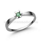 E315FS Smaragd gyűrű