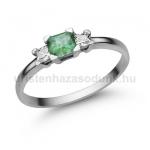 E316FS Smaragd gyűrű