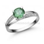 E317FS Smaragd gyűrű