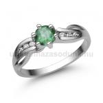 E318FS Smaragd gyűrű