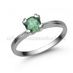 E319FS Smaragd gyűrű